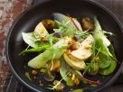Autumn Salad with Fruit and Foie Gras recipe