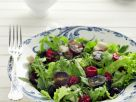 Autumn Salad with Raspberries and Grapes recipe