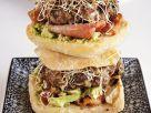 Avocado and Alfalfa Sprout Burgers recipe