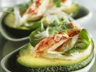 Avocado Stuffed with Shrimp Salad recipe