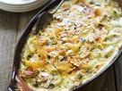 Bacon and Potato Gratin with Almonds recipe