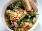 Bacon, Herb, and White Bean Broth recipe