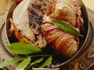 Bacon-Wrapped Roast Pheasant with Prunes recipe