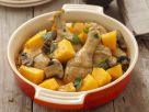 Baked Chicken with Mushrooms and Pumpkin recipe