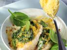 Baked Fish with Spinach recipe