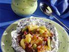 Baked Fruit with Vanilla Custard recipe