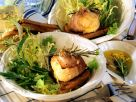 Baked Goat Cheese Wrapped in Bacon recipe