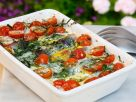 Baked Herring with Cheese and Eggs recipe