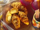 Baked Ice Cream Filled Croissants recipe