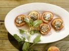Baked Peaches with Amaretto Stuffing recipe