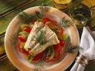 Baked Pollock with Vegetables recipe