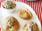 Baked Potato with Tuna Filling recipe