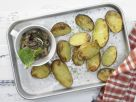 Baked Potatoes with Eggplant Dip recipe