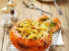 Baked Pumpkin Stuffed with Vegetables recipe
