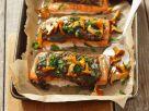 Baked Salmon with Mushrooms recipe