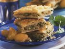 Baklava with Apricot Compote recipe