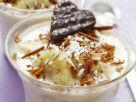 Banana and Coconut Dessert with White Chocolate recipe