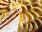 Banana Cream and Chocolate Layer Cake recipe
