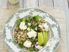 Barley and Brown Rice Salad with Apples recipe