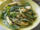 Basil Chicken with Snow Peas recipe