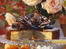 Baumkuchen Cake with Chocolate Frosting recipe