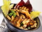 Bean Salad with Salmon recipe