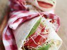 Bean Spread and Sprout Tortillas recipe
