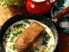 Beef Fillet with Onions and Chervil-cream Sauce recipe