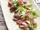 Beef Fillet with Salad recipe
