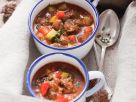 Beef Goulash Soup with Vegetables recipe