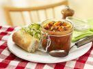 Beef Goulash with Cucumber Salad recipe