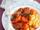 Beef Goulash with Potato Dumplings recipe