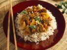 Beef Ragout over Rice Noodles recipe