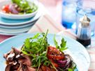 Beef Salad with Balsamic Vinegar and Onions recipe
