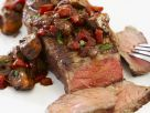Beef Steak with Spicy Tomato Sauce recipe