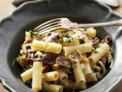 Beef with Whole Wheat Pasta recipe