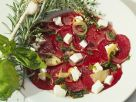 Beet Carpaccio with Goat Cheese recipe