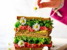 Beet Cream Cheese Sandwich recipe