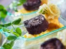 Black Pudding and Apple Mash Appetisers recipe