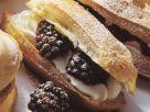 Blackberry Eclairs recipe