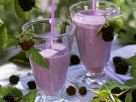 Blackberry, Honey and Vanilla Milkshakes recipe
