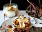 Blinis with Elderberries, Apples and Yogurt recipe