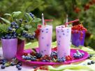 Blueberry and Currant Smoothies recipe