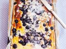 Blueberry Cake with Almonds recipe