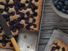 Blueberry Cobler Tray Bake recipe
