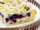 Blueberry Quark Cake With Crumble recipe