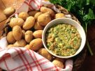 Boiled Potatoes with Tomato and Herb Sauce recipe