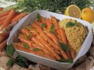 Braised Carrots with Millet recipe