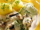 Braised Eel with Herb Sauce recipe