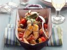 Braised Eel with Tomatoes and Capers recipe